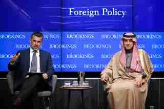Washington, DC-2018-On March 22, Foreign Policy at Brookings will host the minister of foreign affairs of the Kingdom of Saudi Arabia, H.E. Adel Al-Jubeir, for an Alan and Jane Batkin International Leaders Forum. In his remarks, the foreign minister will provide perspectives on Saudi Arabia's role as a regional leader for stability and reconstruction. He will also discuss the importance of maintaining key bilateral relationships to promote the restoration of security and stability in the Middle East.