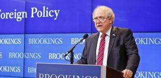 John Sopko speaking at Brookings