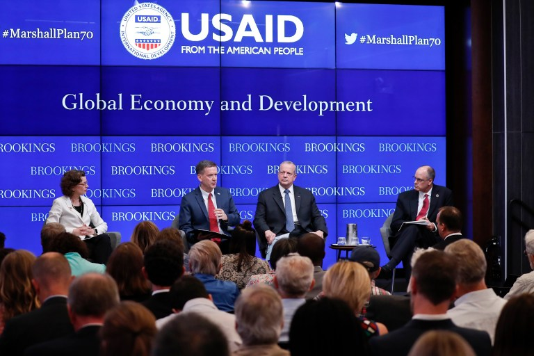 USAID and Brookings panel on 70th anniversary of the Marshall Plan