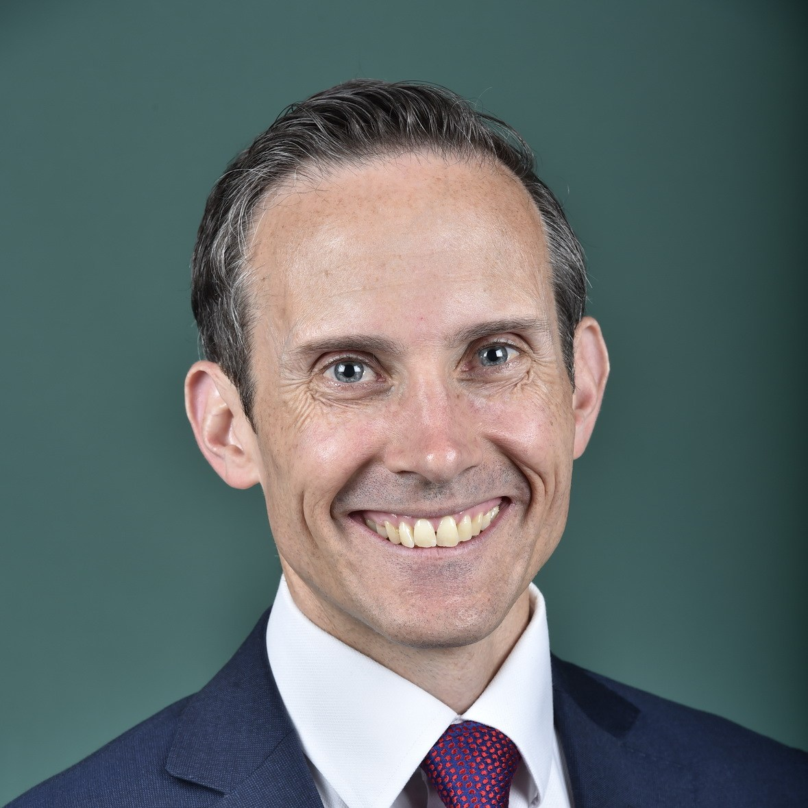 The Hon Dr Andrew Leigh MP, Member for Fenner, Australian Capital Territory, Australian Labor Party, House of Representatives, official portrait, Wednesday 9 November 2016.  Credit: AUSPIC/DPS. Image by Michael Masters.