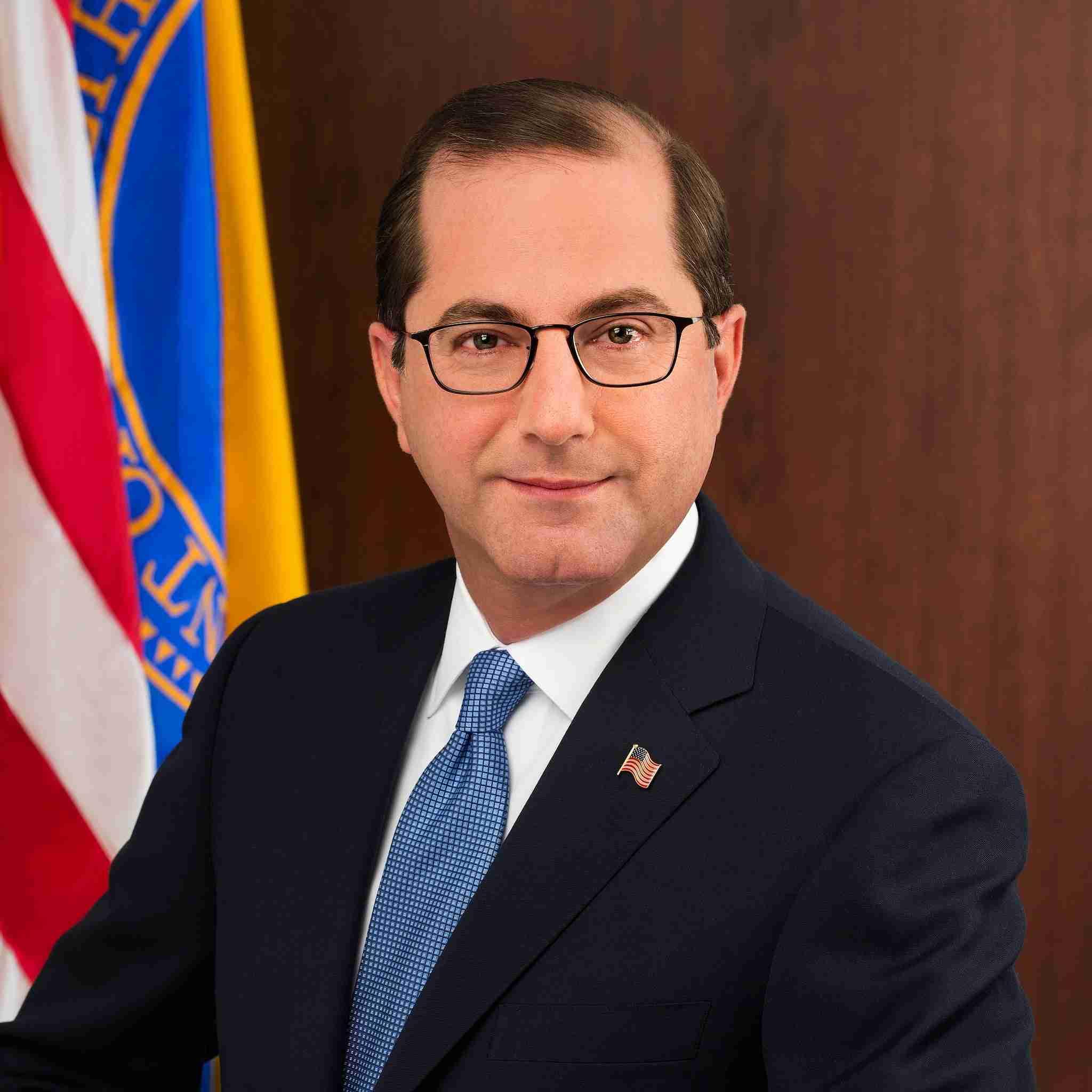 Alex Azar, Secretary HHS