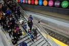 Visitors walk to the platform at the 96th Street Station during a preview event for the Second Avenue subway line in Manhattan, New York City, U.S., December 22, 2016. REUTERS/Andrew Kelly - RC14771C8740