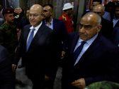 Barham Salih, Iraq's newly elected president, walks with Iraq's new Prime Minister Adel Abdul Mahdi at the parliament headquarters, in Baghdad, Iraq October 2, 2018. REUTERS/Khalid al Mousily - RC14461FCEC0