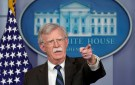 U.S. President Donald Trump's national security adviser John Bolton speaks during a press briefing at the White House in Washington, U.S., November 27, 2018.  REUTERS/Kevin Lamarque - RC16840F9D40