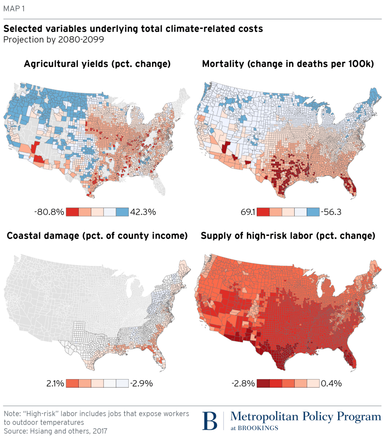 How the geography of climate damage could make the politics ...