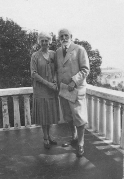 Isabel and Robert Brookings, Italy, 1928
