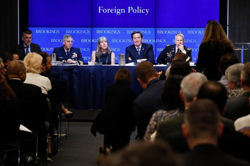 Panelists at the March 25, 2019 Foreign Policy program event on maritime security.
