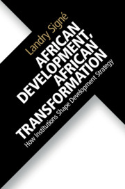 African Development, African Transformation book cover (Cambridge University Press, 2018)