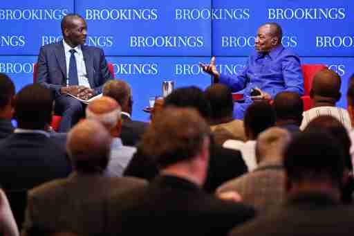 A conversation with Guinean President Condé on natural resource management in Africa