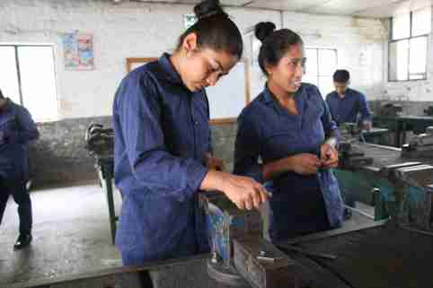 Girls' transitions to work through higher-quality TVET programs in Nepal