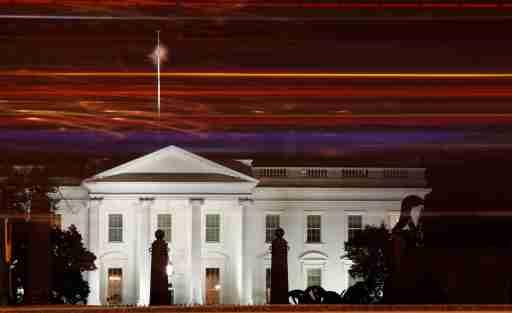 A view of the White House by night in Washington, U.S., November 16, 2019. REUTERS/Yara Nardi - RC2OCD9APFV7