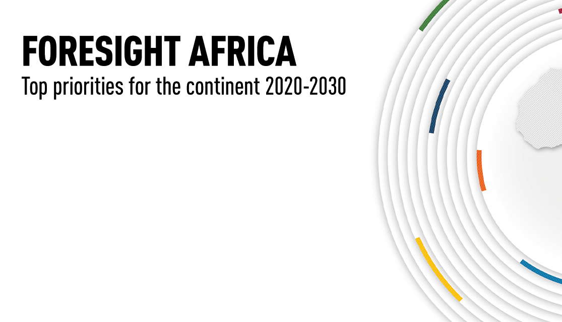 Foresight Africa 2020 banner