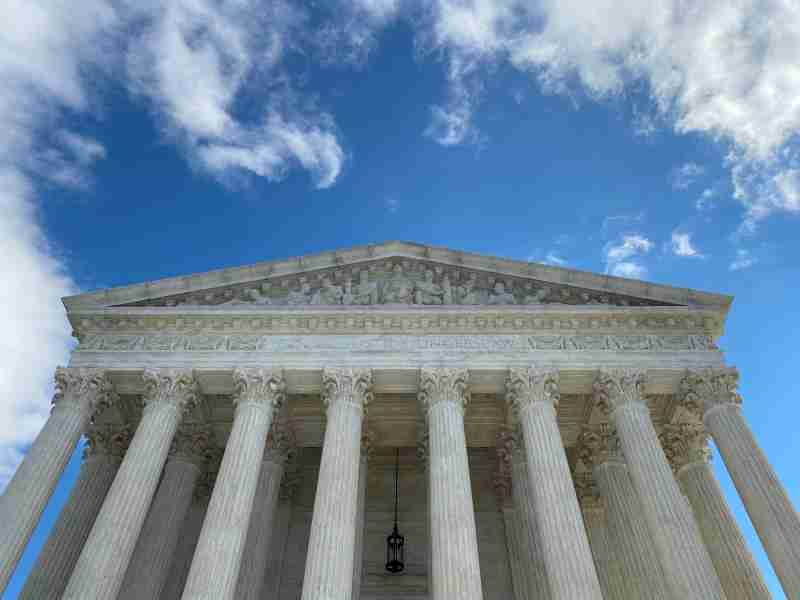 FILE PHOTO: The U.S. Supreme Court building is pictured in Washington, D.C., U.S., January 19, 2020. REUTERS/Will Dunham/File Photo