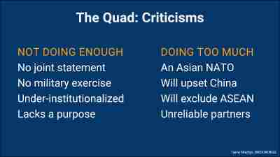 Quad readouts