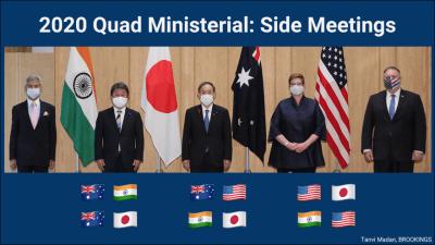 Quad ministerial side meetings