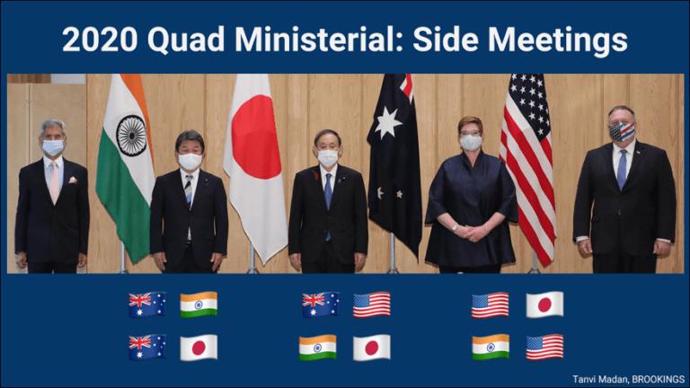 Reuniões paralelas ministeriais quádruplas