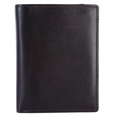 Bifold Genuine Leather Wallet For Men | Dark Brown