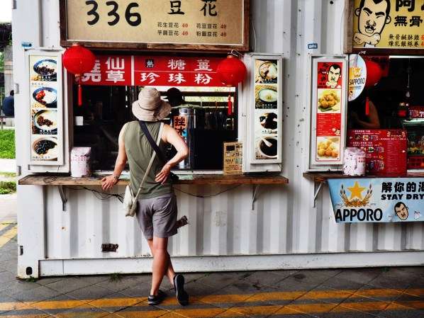 buns, contemplating in taiwan.