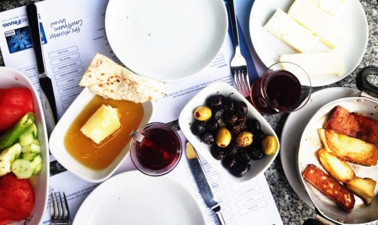 choose-your-own-adventure style turkish breakfast.