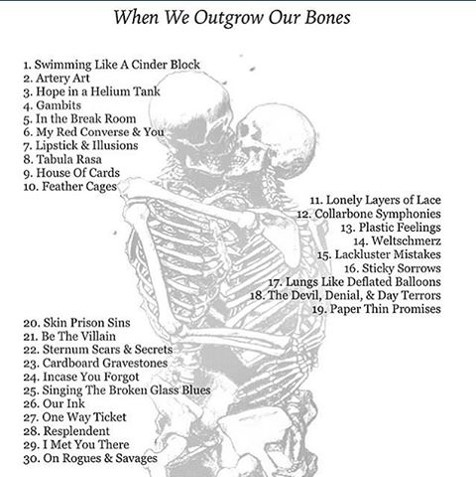 When We Outgrow Our Bones | Poetic Writing Prompts - Brooklyn, I'm