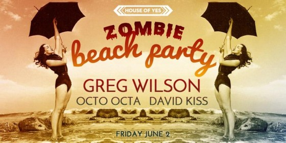 zombie beach party at house of yes