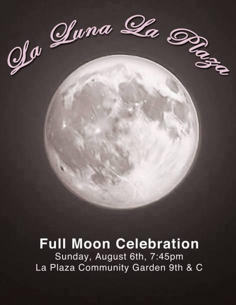 full moon party at la luna plaza