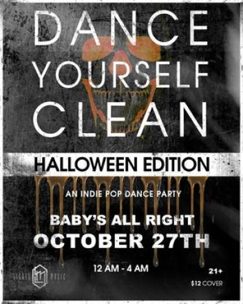dance yrself clean at baby's all right