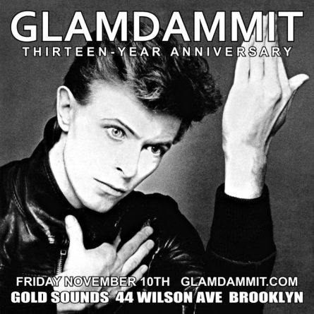 glamdammit anniversary party