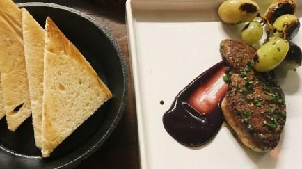 seared foi gras bistro petite