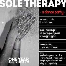 sole therapy at black flamingo