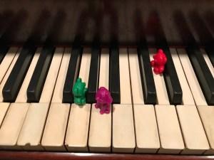 minikeys animals on keys