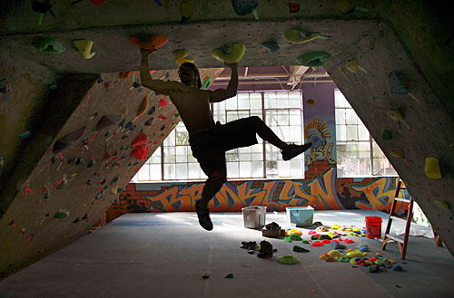 This Climbing Gym Is On The Wall Brooklyn Paper
