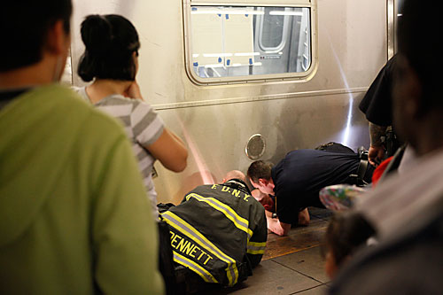 Failed F Train Suicide Attempt! | Global Grind