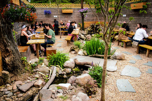 Brooklyns Backyards The Best Restaurants With Outdoor Seating And Eating Brooklyn Paper