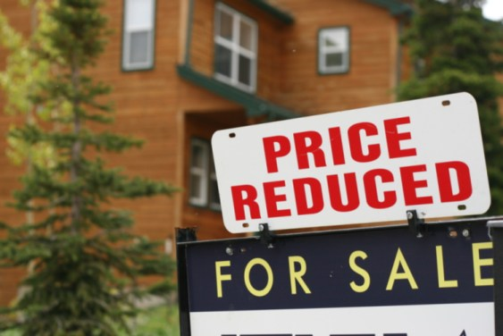 Price reduced For Sale Sign