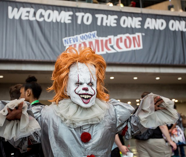 Ny Comic Con 2017 Pics Cosplay Stranger Things Got More From Thursday