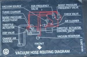 Boost valve N75 hoses  TDIClub Forums