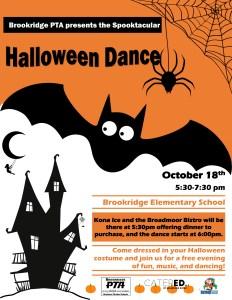 Halloween Dance @ Brookridge Elementary