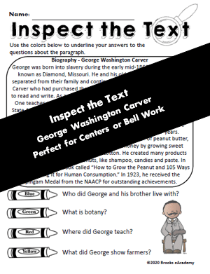 George Washington Carver Resource