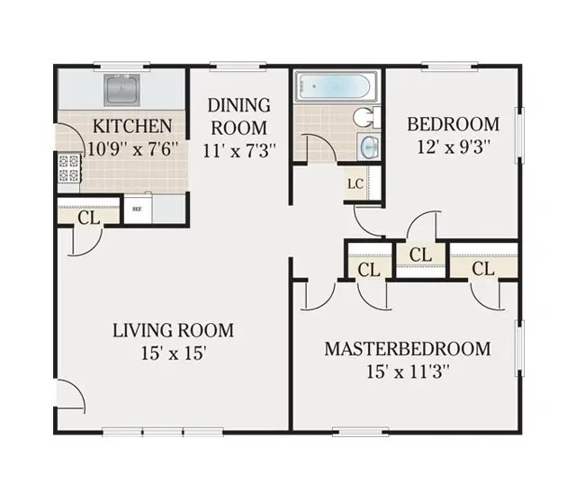 2 bedroom 1 bathroom apartment plans for 600 square feet 2 bedroom apartment