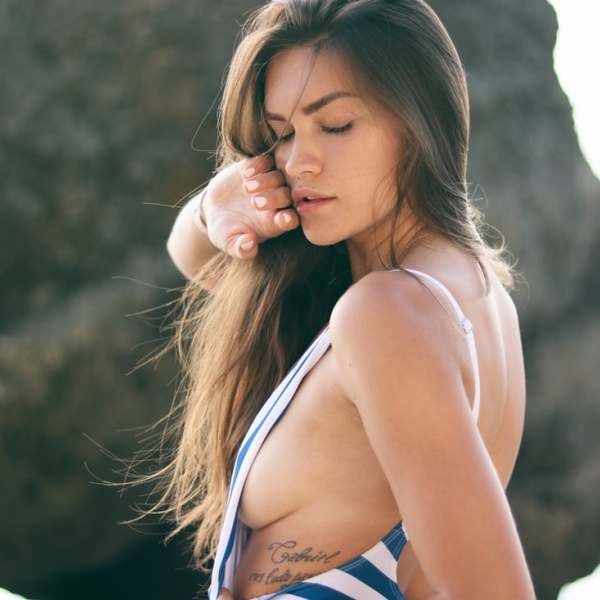 Diana Lukmanova Sideboob