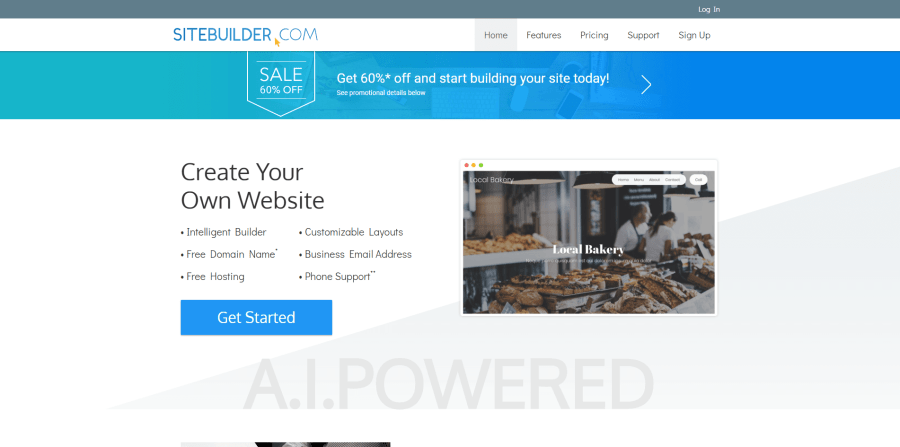 4. SiteBuilder