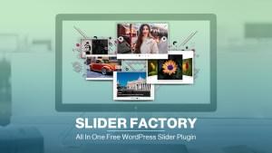All In One Free WordPress Slider Plugin – Slider Factory