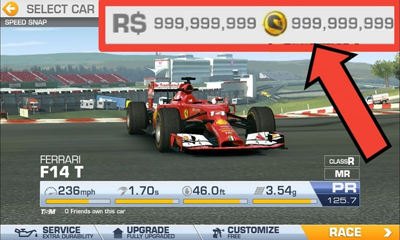 real racing 3 hack tool