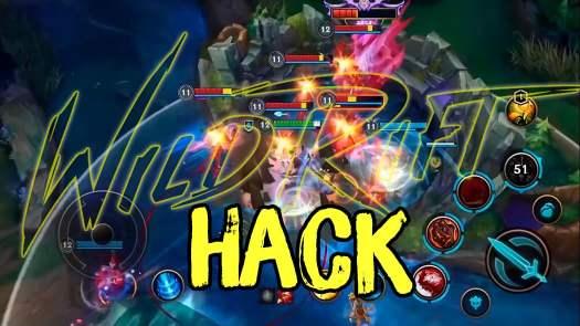 league of legends wild rift hack