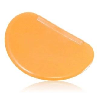 silicone dough scraper orange