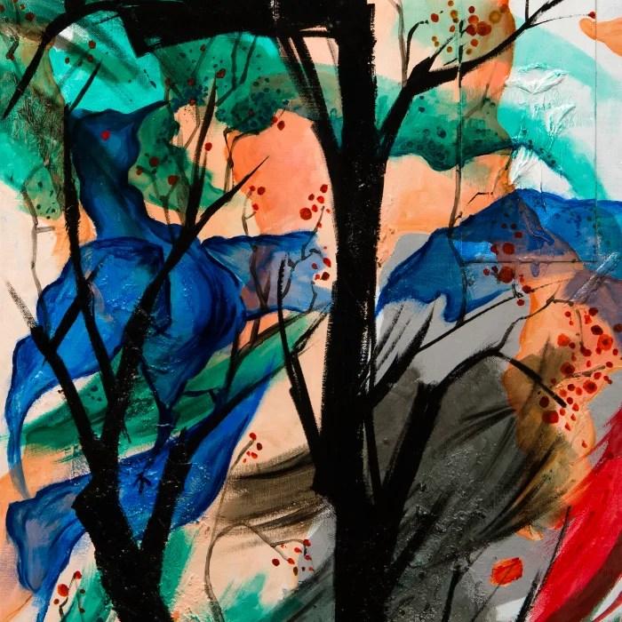 peinture-oiseau-bleu