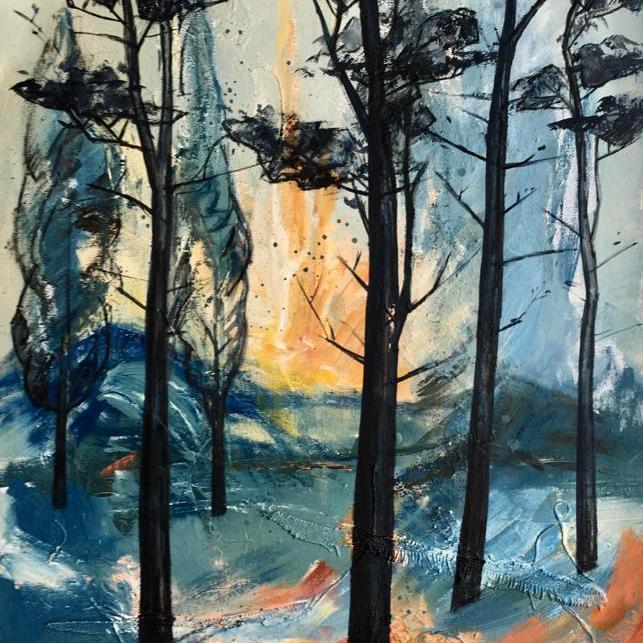peinture-foret