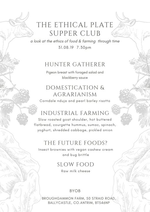 supper clubs northern ireland