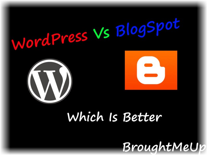 wordpress vs blogger